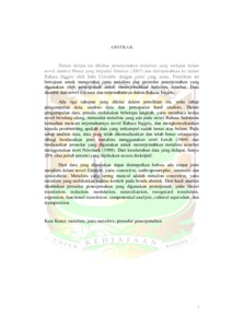An Analysis Of Translation Metaphor Found In Andrea Hirata S Novel Edensor And Its English Version Eskripsi Universitas Andalas